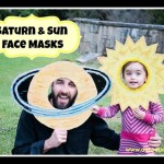 DIY Saturn & Sun Masks