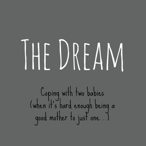 The Dream - Coping with two babies when it is hard enough being a good mother to just one