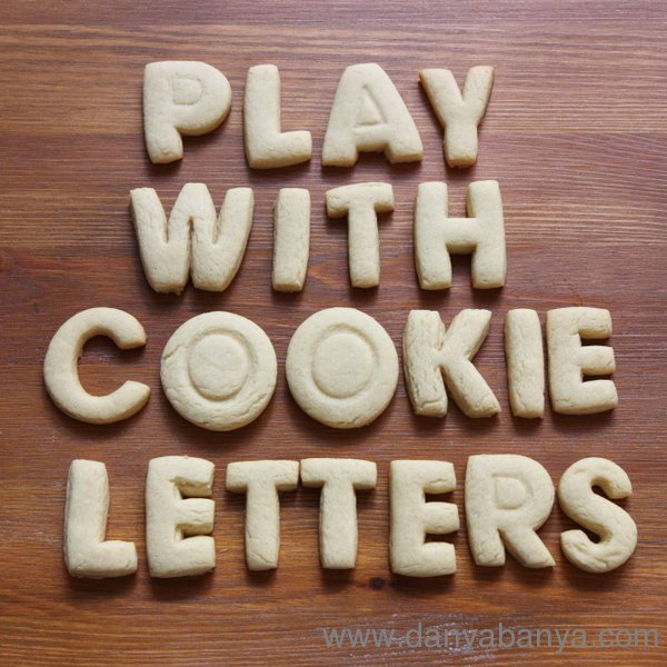 Play with cookie letters!
