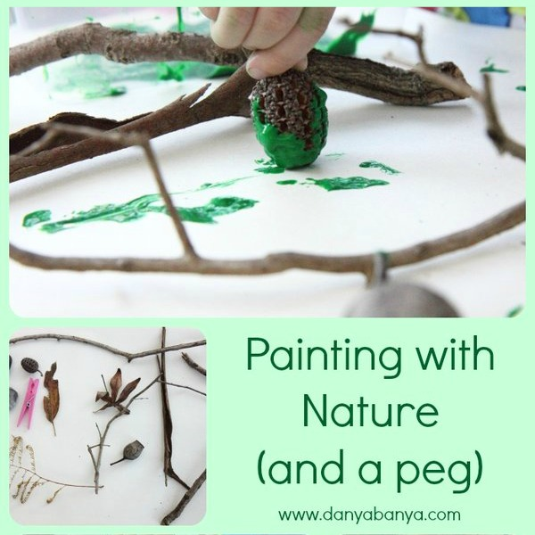 Painting with nature (and a peg)