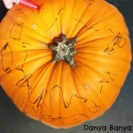 Toddler Pumpkin Decorating