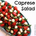 Mini Caprese Salad Sticks