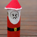 Emo Santa doll, with changeable facial expression