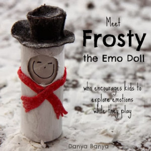 Meet Frosty the Emo Doll