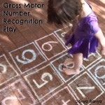 Gross Motor: Number Recognition Play