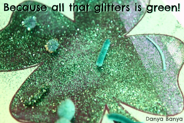 Because all that glitters is green