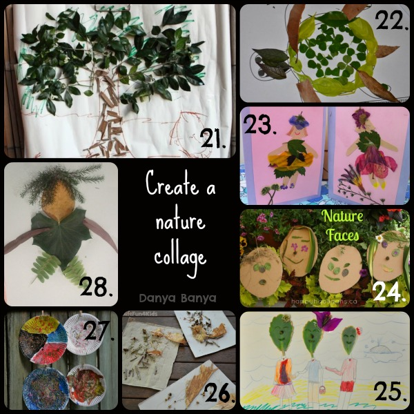 Create a nature collage