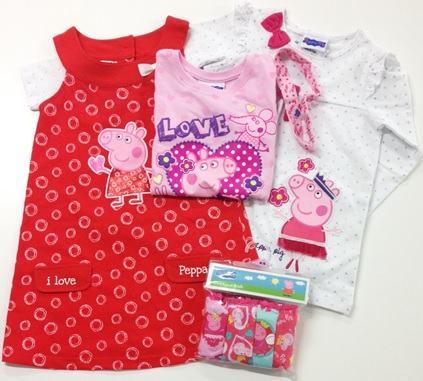 Peppa Pig Clothing Pack