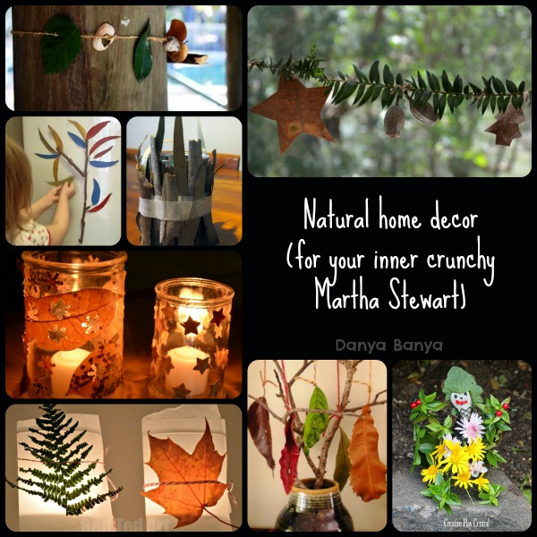 Natural home decor
