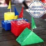 Recycle & Create: Polystyrene Shape & Colour Boats