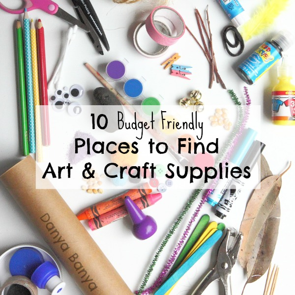 Budget Friendly Art Craft Supplies