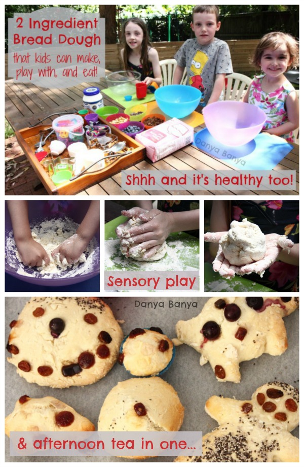 Sensory play and afternoon tea in one