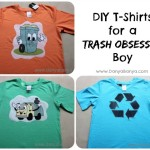 DIY T-Shirts for a Trash Obsessed Boy
