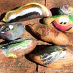 Painting on Seed Pods