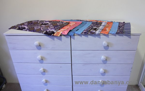Sewing Fabric Liners For The Chest