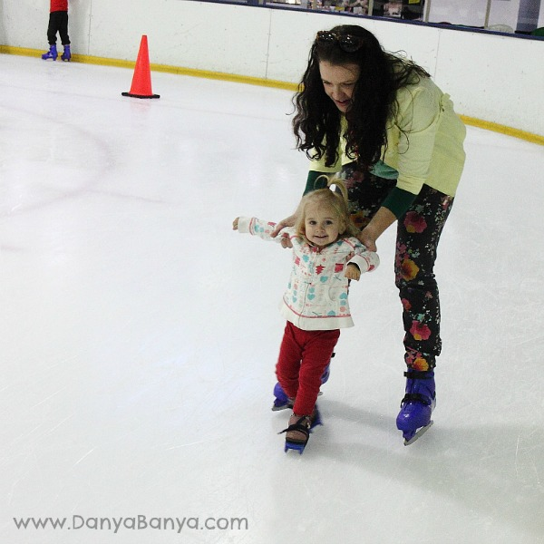 Danya & Bee on ice
