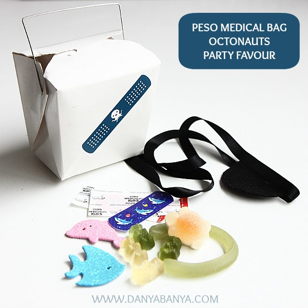 Peso Medical Bag Octonauts Party Favour