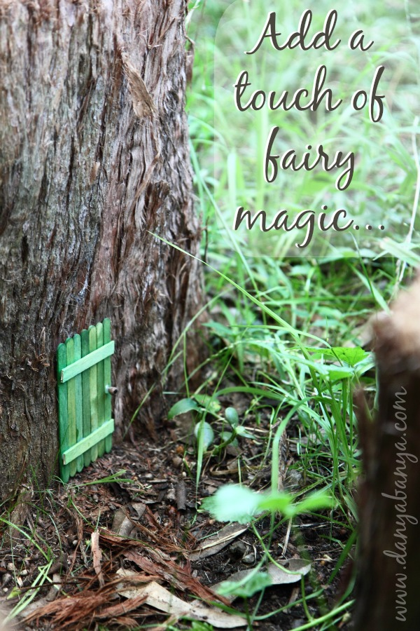 An invitation to the fairies diy fairy door danya banya for Outdoor fairy door