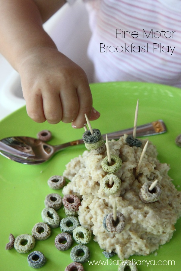 Fun fine motor practice for toddlers