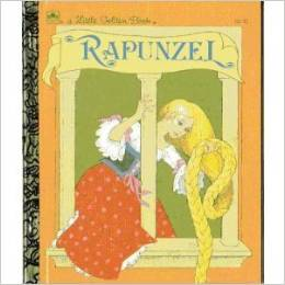 Rapunzel My Little Golden Book