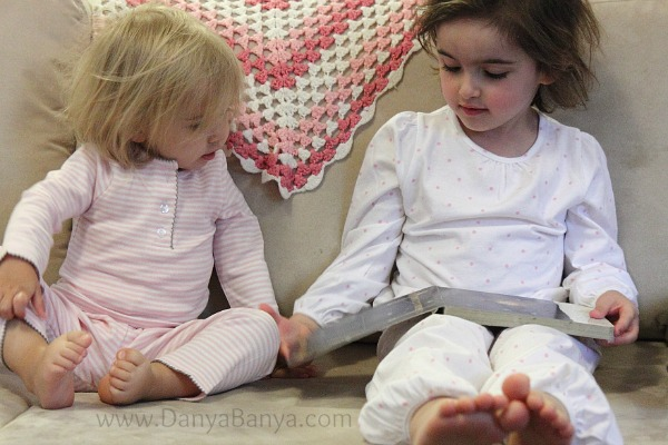 Reading The Very Busy Spider together