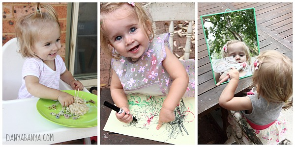 Bee playing, drawing and painting