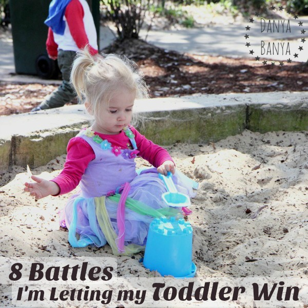 8 Battles I'm Letting My Toddler Win - gentle parenting and keeping connections
