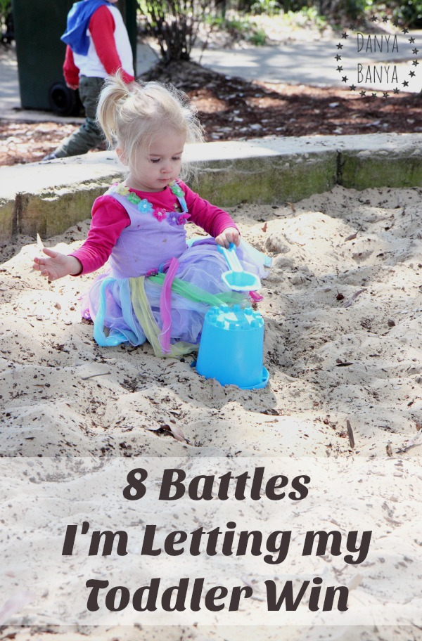8 Battles I'm Letting My Toddler Win - gentle parenting