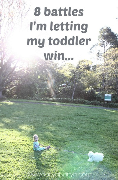 8 battles Im totally letting my toddler win