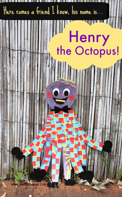 Henry the Octopus DIY toy and craft activity