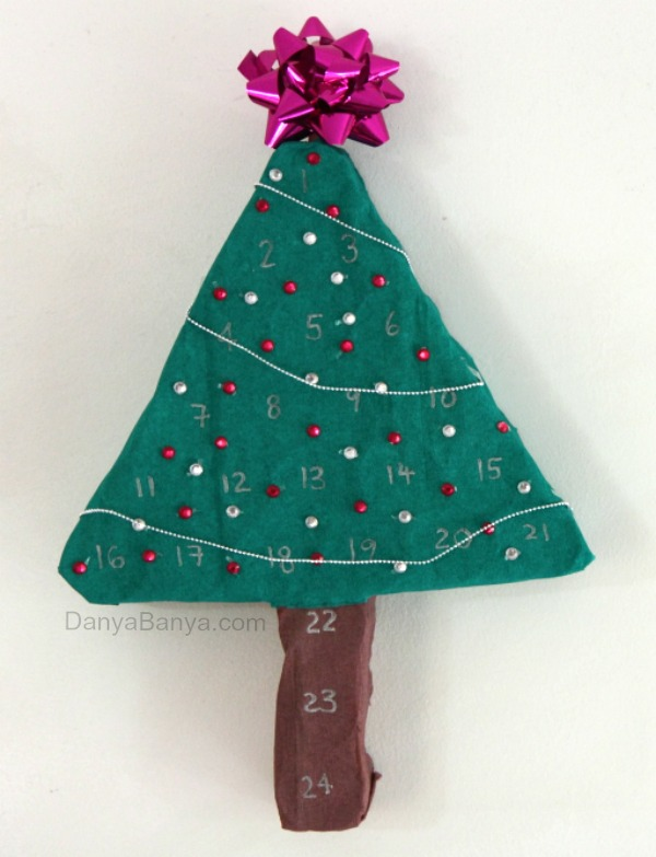 Advent Calendar that you can make at home ~ Danya Banya