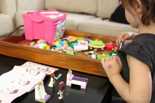 Build, pull apart and rebuild with LEGO Juniors
