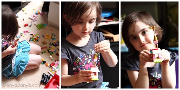 Building with Lego - one of the timeless childhood rites of passage