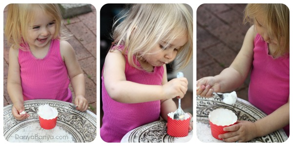 DIY babyccinos for toddlers