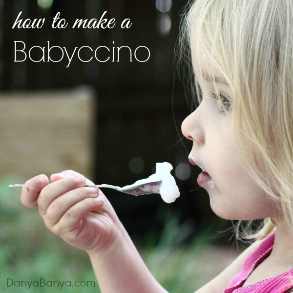 How to make a babyccino at home