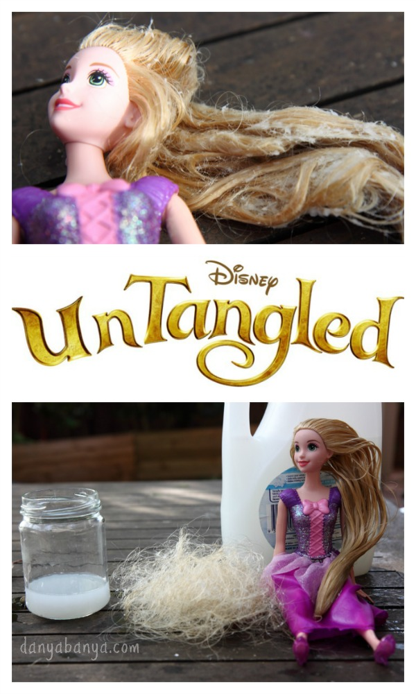 Untangled - how to brush knots out of a dolls hair