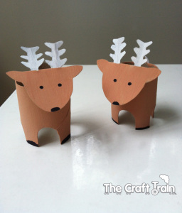two reindeer the craft train