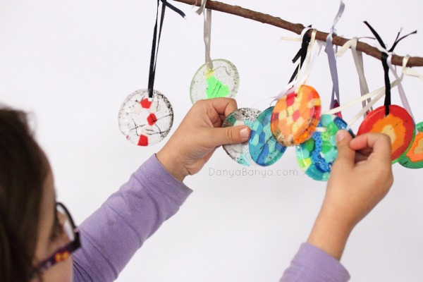 How to make pony bead ornaments - which one is your favourite
