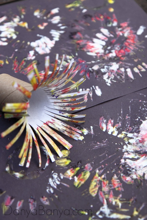 Fireworks Paint Art