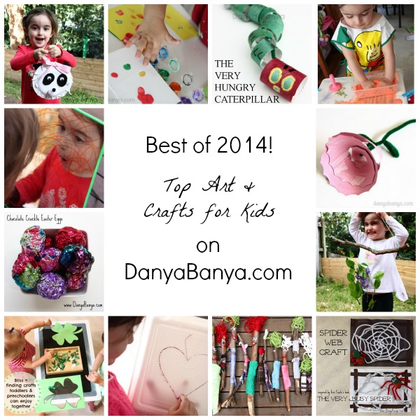 Top Arts and Crafts for Kids posts from Danya Banya 2014