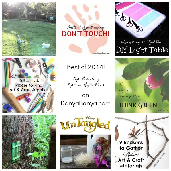 Top Parenting Reflections and Tips blog posts from Danya Banya for 2014