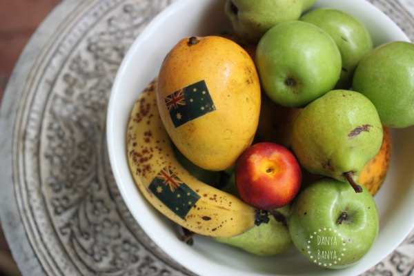 Aussie fruit - add a bit of Australia to your fruit bowl