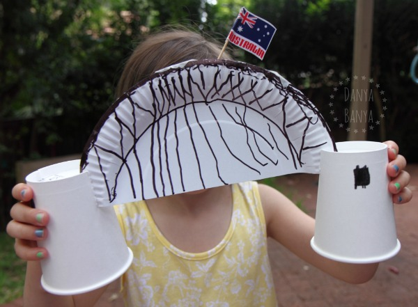 Sydney Harbour Bridge craft for preschool
