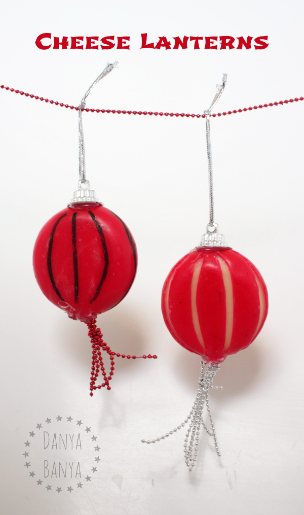 Chinese New Year Cheese Lanterns