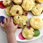 Healthy snack recipe: mini egg and bacon quiche