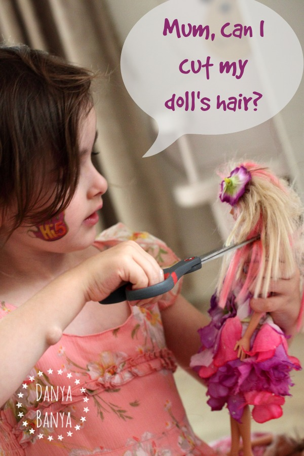 Should I let my daughter cut her doll39;s hair? I think so
