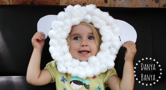 Paper Plate Sheep Mask For Kids Danya Banya