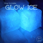 How to Make Glowing Ice