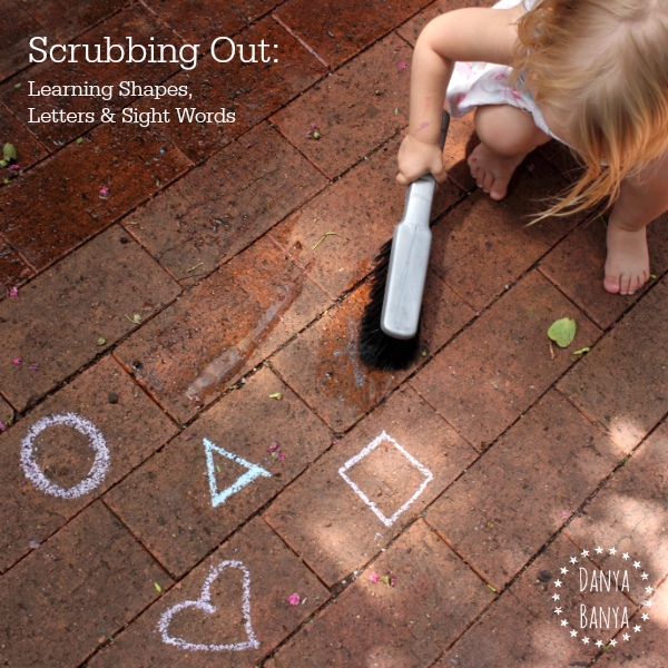 Scrubbing Out learning shapes