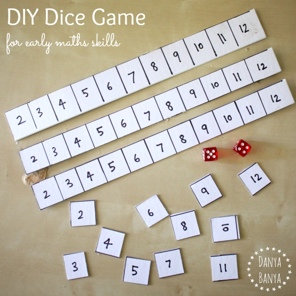 17 Dice Games For Kids (that Teach Early Math Skills